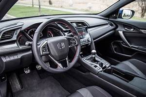 Honda Civic Si Coupe 2019 Interior