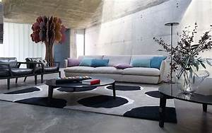 canape agiorno design sacha lakic roche bobois collection With canapé cuir roche bobois