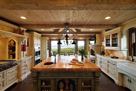 Rustic Elegance Kitchen  Rustic  Kitchen  Chicago By