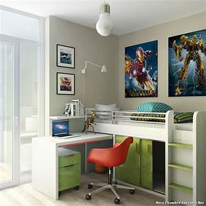 awesome chambre moderne ado garcon contemporary design With chambre moderne ado garcon