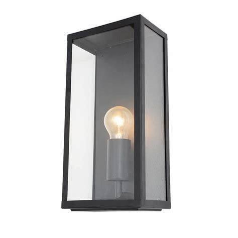 mersey outdoor lantern wall light black from litecraft