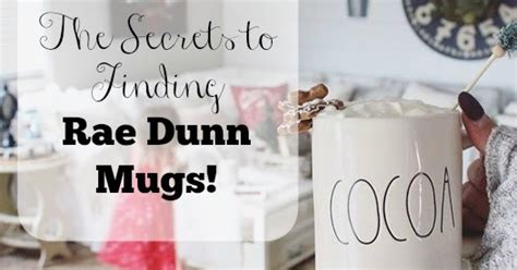 Where And How To Find Rae Dunn Mugs!