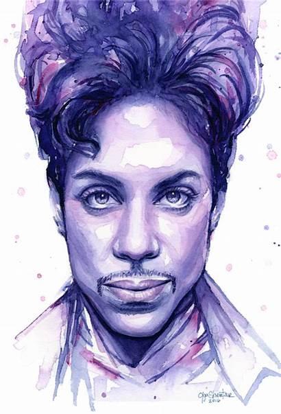 Prince Watercolor Purple Shvartsur Olga Coffee Transparent