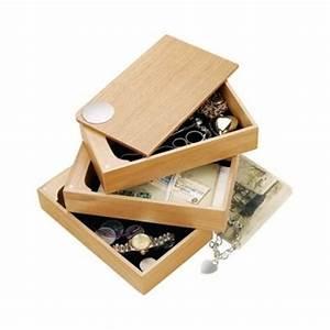 Boite A Bijoux Originale : boite de rangement boite bijoux ~ Teatrodelosmanantiales.com Idées de Décoration