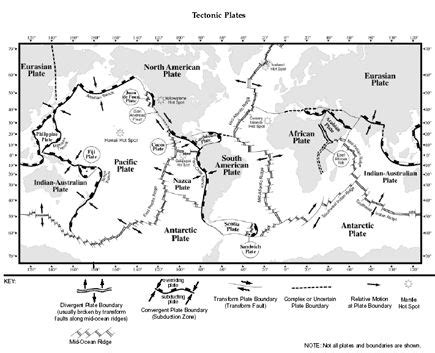 Students are asked to complete two activities, the first where they cut out and label the students will cement their knowledge of the world's tectonic plates with terminology and key facts. Tectonic Plates | Kids Classes | Pinterest