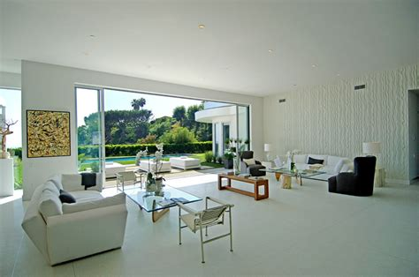 white tile living room see this house setting the stage for a house with a view house designs