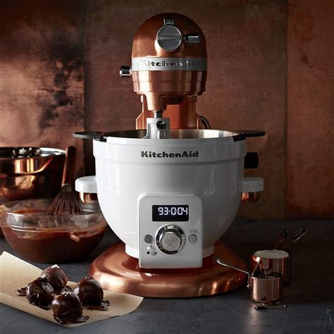 kitchenaid pro  copper stand mixer  qt williams sonoma ca