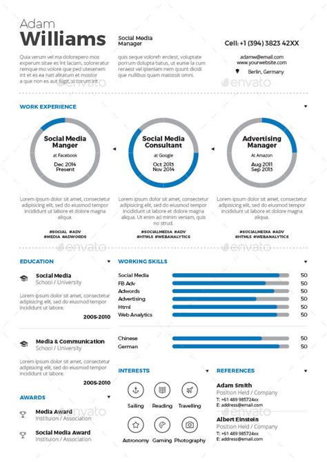 Infographics Resume Software by Infographic Resume Bundle By Paolo6180 Graphicriver