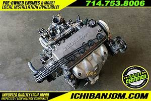 Jdm D16a Sohc Non Vtec 1 6l Engine Honda Civic Dx Lx Cx 96
