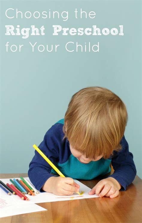choosing preschool 8 tips for choosing the right preschool for your child 645