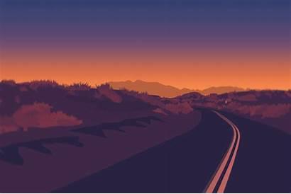 Firewatch Road Wallpapers Artist Behance Games Digital