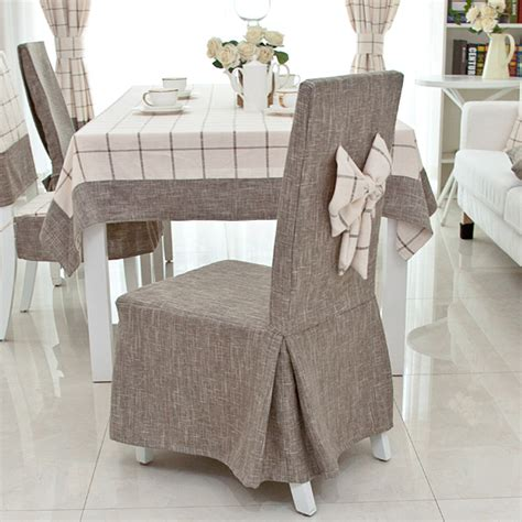 popular linen dining chair covers buy cheap linen dining