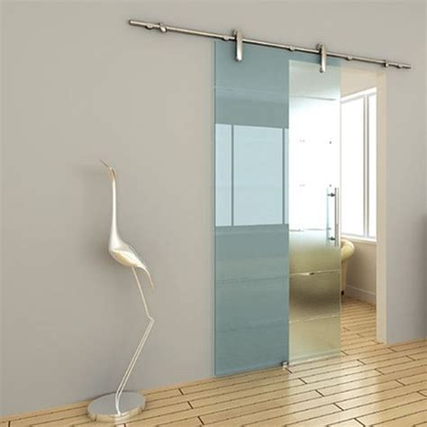 China Toughened Glass Frameless Glass Sliding Door