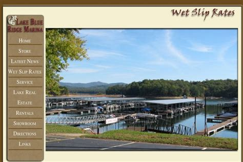Pontoon Boat Rental Blue Ridge Lake by Lake Blue Ridge Marina In The Blue Ridge Mountains Of