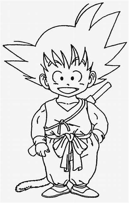 Goku Pintar Dibujos Colorear Dragon Ball Desenhos