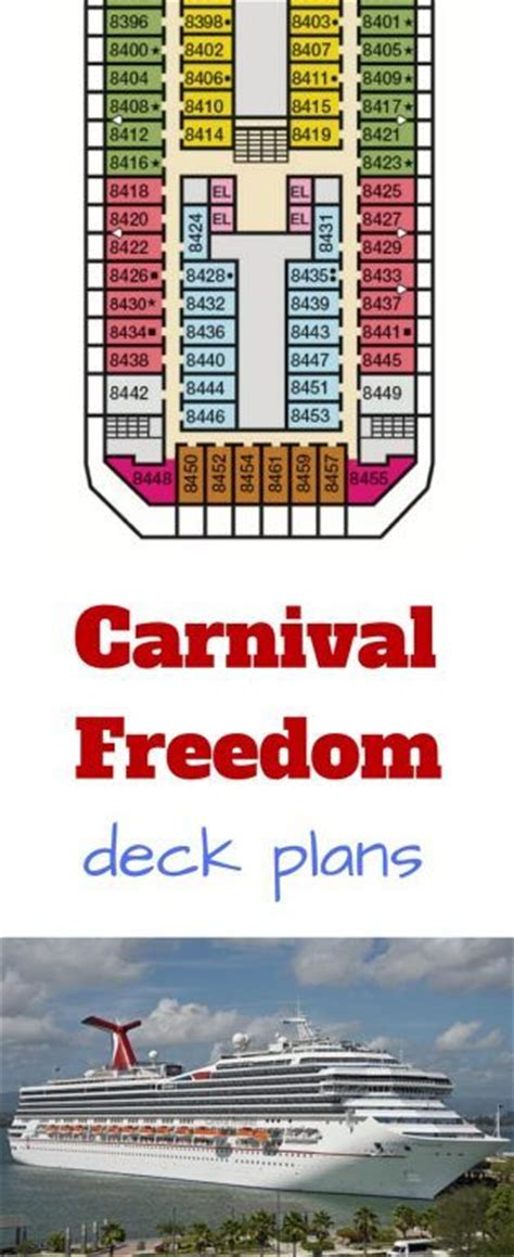 carnival deck plans deck 7 25 best ideas about carnival freedom on