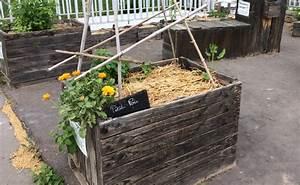 Construire Potager Surélevé : fabriquer et cultiver un carr potager sur lev ~ Melissatoandfro.com Idées de Décoration