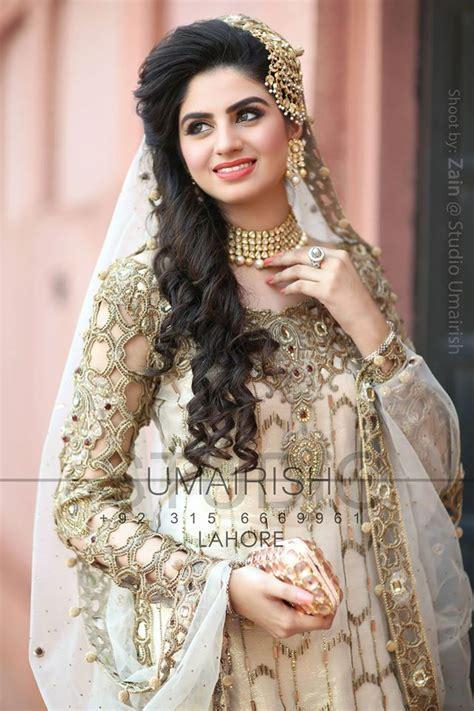 latest Pakistani Bridal Hairstyles 2017 For Girls 17