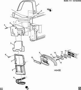 2001 Pontiac Sunfire P C M  Module  U0026 Wiring Harness