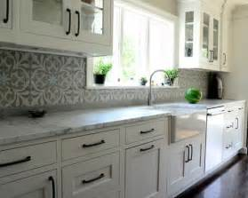 houzz kitchen backsplash cement tile backsplash houzz