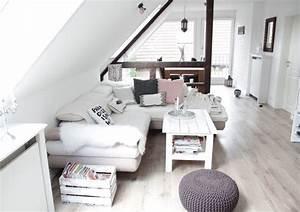 Kleine Dachwohnung Einrichten : die 25 besten ideen zu kleine wohnzimmer auf pinterest kleiner raum anordnung kleiner ~ Bigdaddyawards.com Haus und Dekorationen