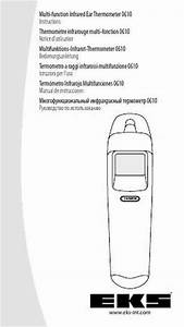 Eks Infrared Thermometer 0610 Thermometer Download Manual