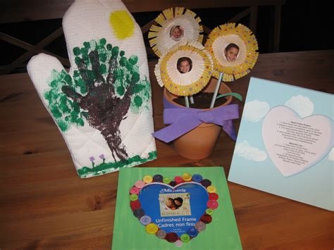 homemade mothers day gifts  kids