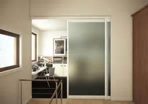 separation de bureau en verre porte coulissante m 39 i séparation pièces porte en verre