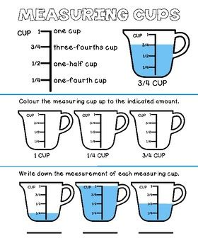 Save materials for the next lesson. Food Hygiene and Safety-Measuring Cup Activity by Life ...