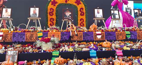 Colocan ofrenda monumental del Día de Muertos en Valle de ...