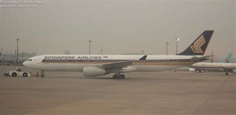 Airplane Art Singapore Airlines Airbus A330 300