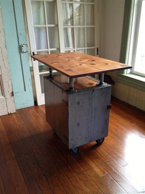 industrial kitchen island for 17 best images about pipe furniture on 7514