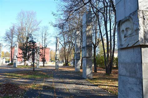 Krustpils parks un Otrā pasaules kara memoriāls - Memoriālie objekti   Memorial Services