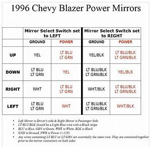 02 Power Mirrors On A 97 Wiring Help  - Page 3