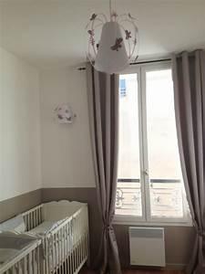 Suspension Chambre Enfant : suspension papillon taupe rose et parme fabrique ~ Melissatoandfro.com Idées de Décoration