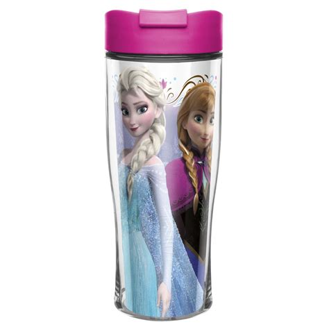 Disney Frozen Anna & Elsa Travel Mug for sale   Anna & Elsa   Zak!   Zak Designs