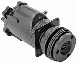 Chevelle Ac Compressor  1977 A6 Style A6 Style  5 U0026quot  Pulley W  Clutch   Opgi Com