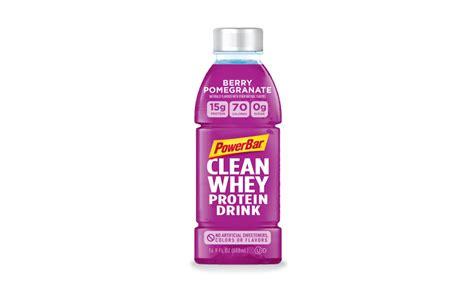 powerbar clean whey protein drink    beverage