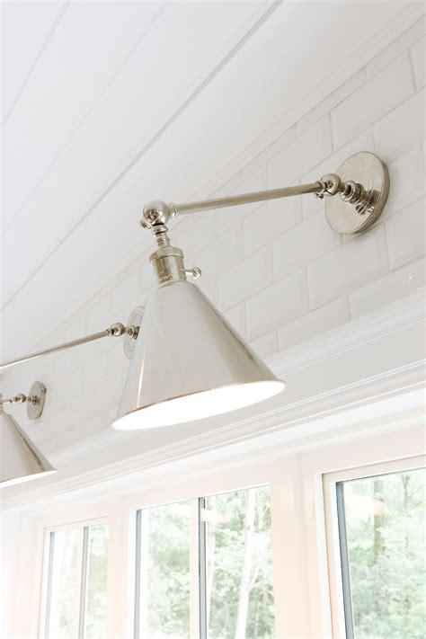 over the sink light fixture monika hibbs boston functional single arm library light