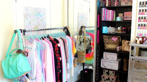 creating closet space in small bedroom closet tour organization ideas youtube 20430 | maxresdefault
