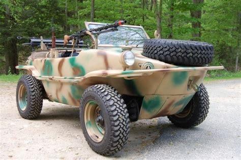 vw schwimmwagen for sale water beetle 1943 vw schwimmwagen bring a trailer