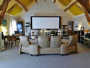 Cinema A La Maison : une salle de cinema a la maison un reve d 39 enfant pour les grands hifi espace cin ma ~ Louise-bijoux.com Idées de Décoration
