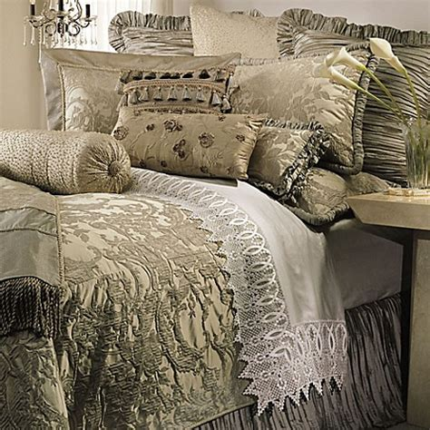 horn collection cascata duvet cover in seamist bed bath beyond