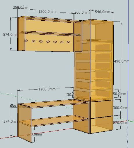 sketchup furniture design woodworking projects plans