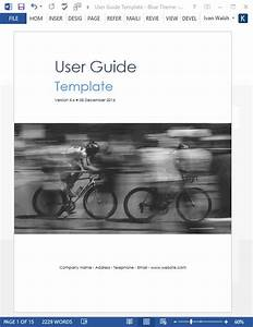 User Guide Templates  5 X Ms Word   U2013 Templates  Forms