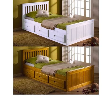 beds with drawers 3ft single mission storage drawers childrens bed
