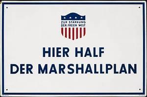 LeMO Objekt Schild QuotHier Half Der Marshall Planquot