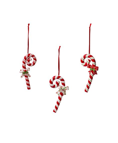 candy cane  bow christmas tree ornaments tree classics
