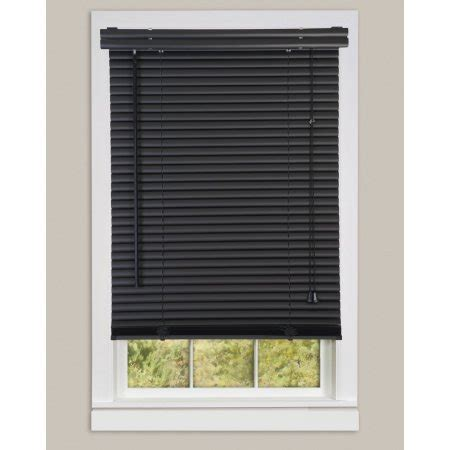 Black L Shades At Walmart by Window Blinds Mini Blinds 1 Quot Slats White Venetian Vinyl