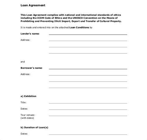loan agreement template pdf 27 loan contract templates doc pdf free premium templates